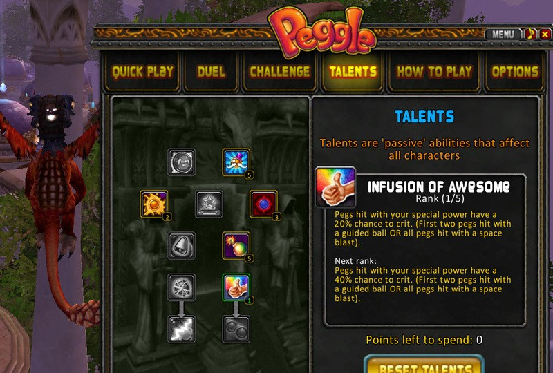Screenshots For Wow Addons Peggle A