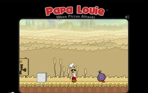 Papa Louie italian fem joy