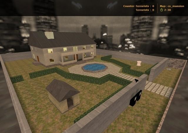 CS Maps: cs_mansion