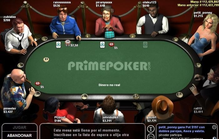 Pure player poker