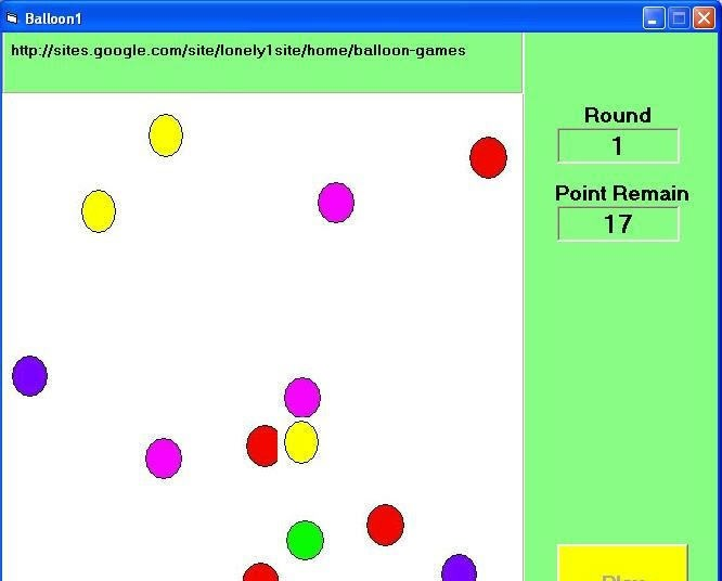 Balloon sit pop free games download for Free balloon games