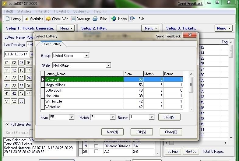 Скачать Lotto007 Prediction Expert 2009 6.2 бесплатно. Софт.