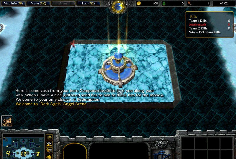 Also see - like Warcraft Maps: Angel Arena X Angel Arena X 2007.01
