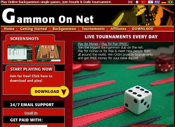 Gammon On Net