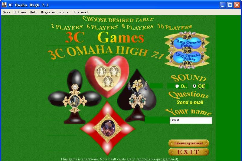 games poker omaha