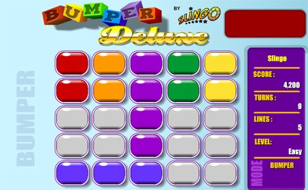 Slingo Bumper Cars Game