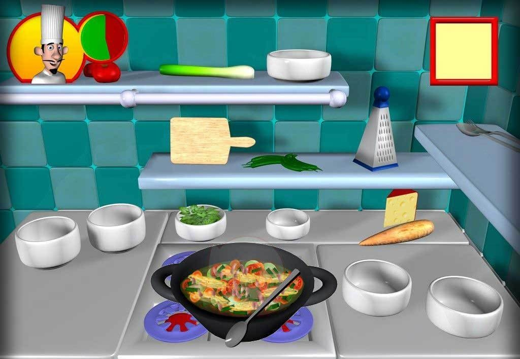 Screenshots for crazy cooking