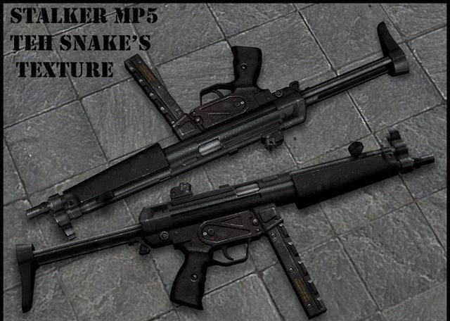 CS Addons: TS STALKER MP5