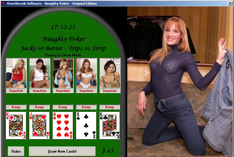free naughty poker strip