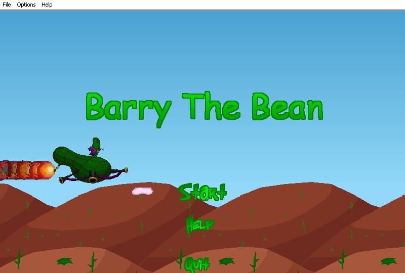 Barry the Bean