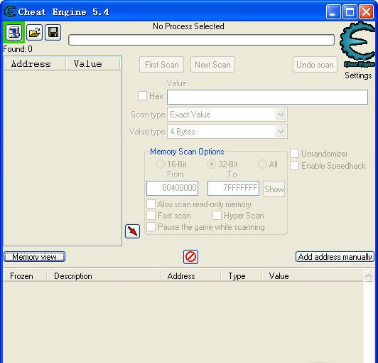 Cheat Engine 5.4