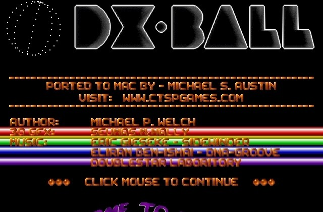 DX-BALL for Mac