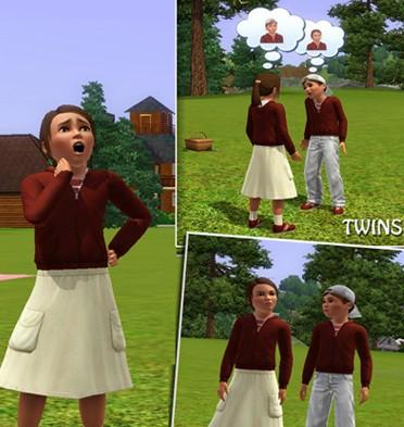 Sims3 - Maria-Kid