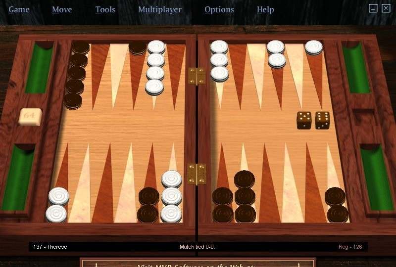 MVP Backgammon