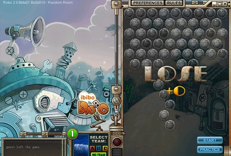 ibibo Game - Robo