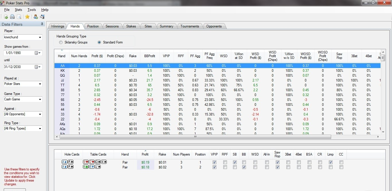 Poker Stats Pro