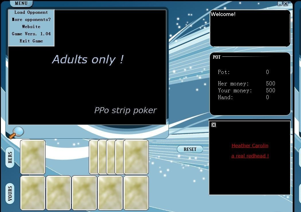 PPo Strip Poker