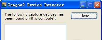 Camgoo Detector