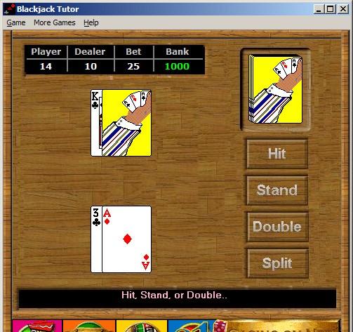 Blackjack Tutor