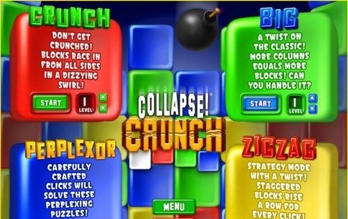 Collapse! Crunch