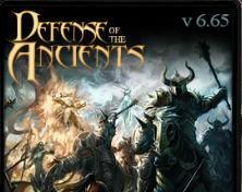 Warcraft Maps: DotA Allstars 6.65