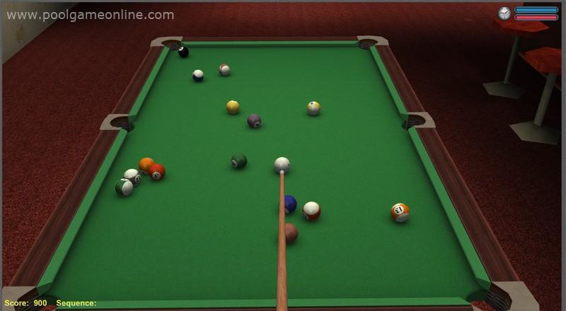 3D Online Pool 1.395