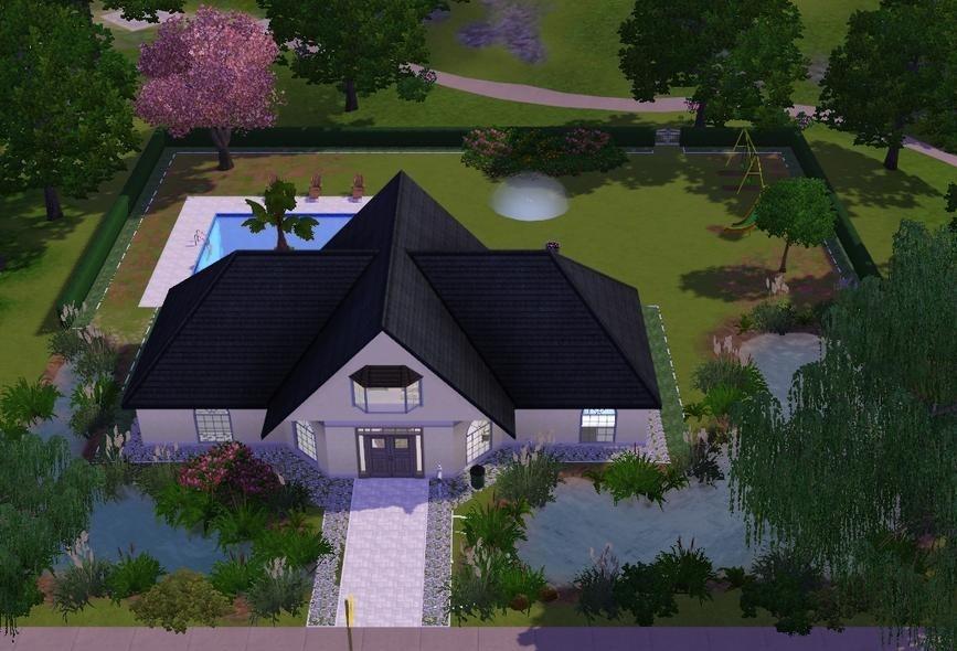 Sims3 - Garden Road