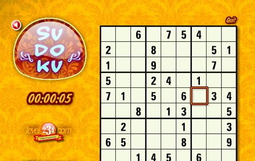Classic Sudoku 1.0