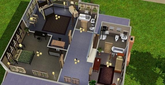 Also see - like Sims3 - Small House