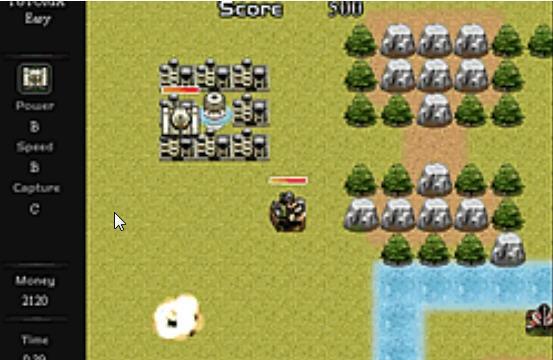 Tactic Tanks Game