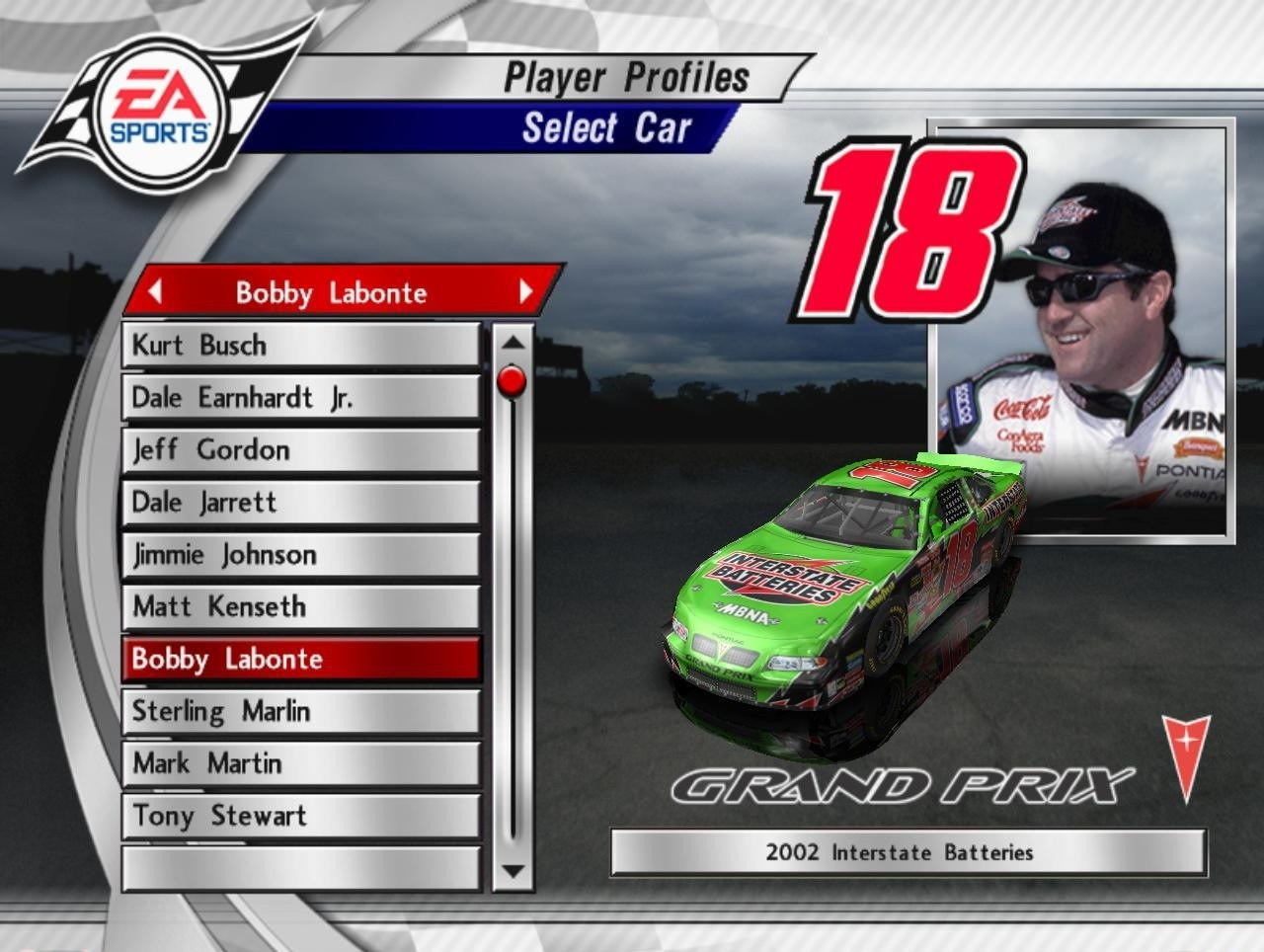Nascar Thunder 2003 Games Thunder 2003 Nascar Thunder