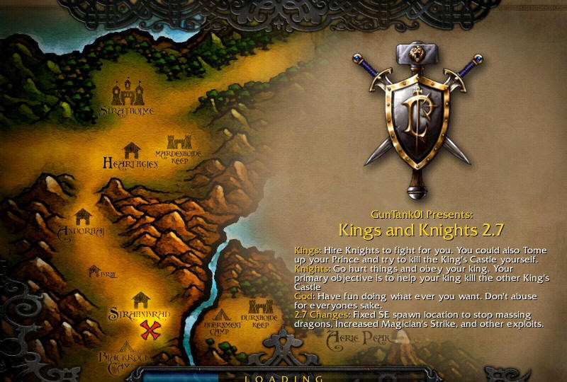 Also see - like Warcraft Maps: Kings and Knights Kings and Knights 2.7
