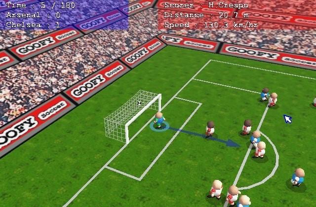GOOFY Soccer Demo