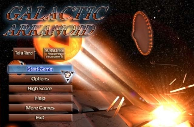 Galactic Arkanoid