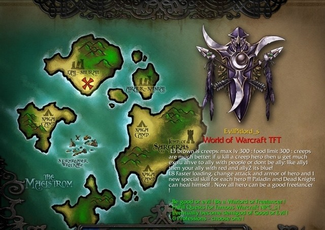 world of warcraft maps: