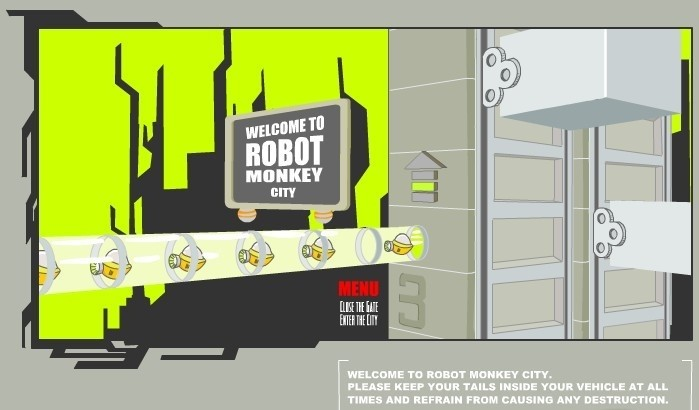 Robot Monkey City