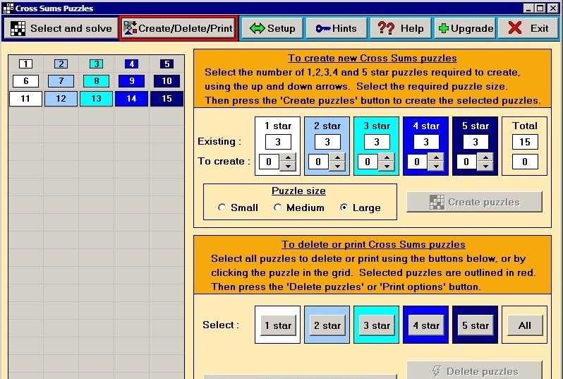 Amigos cross sums lisisoft - Kakuro cross sums combinations table ...