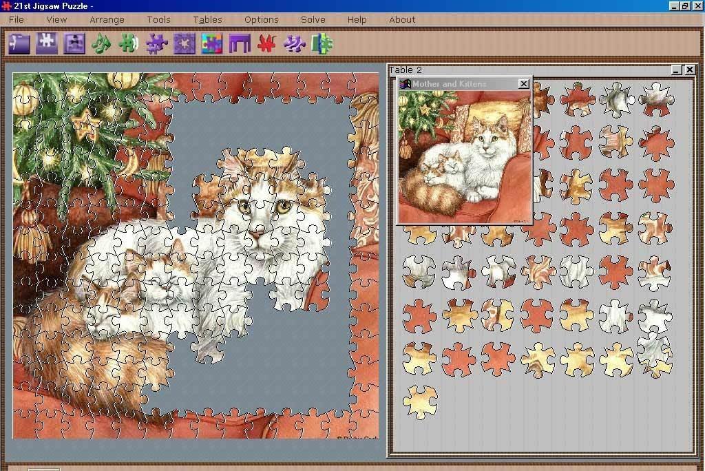 21st Jigsaw Puzzle