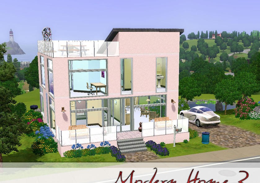 Top 18 Photos Ideas For Modern House Plans Sims 3 Home
