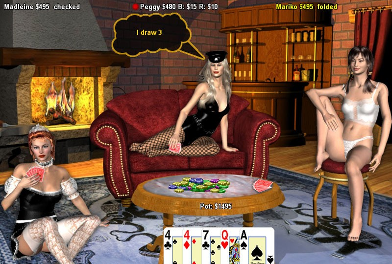 playing poker on game of war