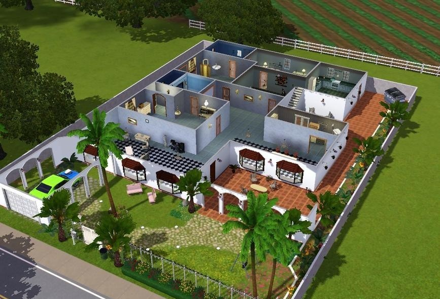Build a sims house online party invitations ideas for Best house designs games