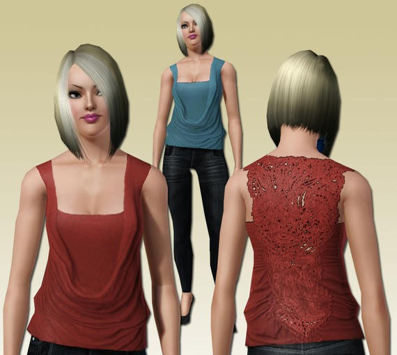 Sims3 - Triangle Top