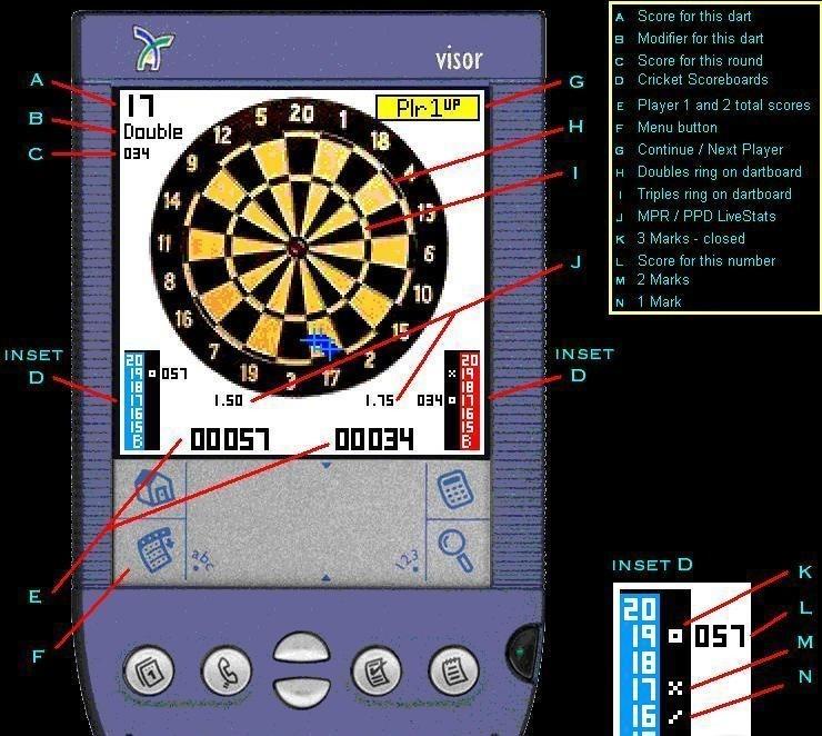 Dartz for PocketPC