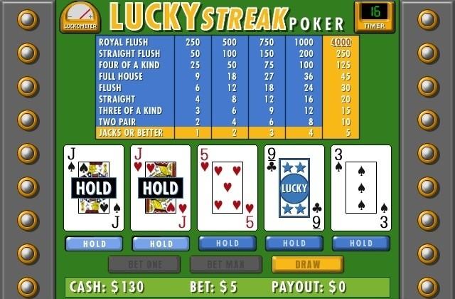 Lucky Streak Poker