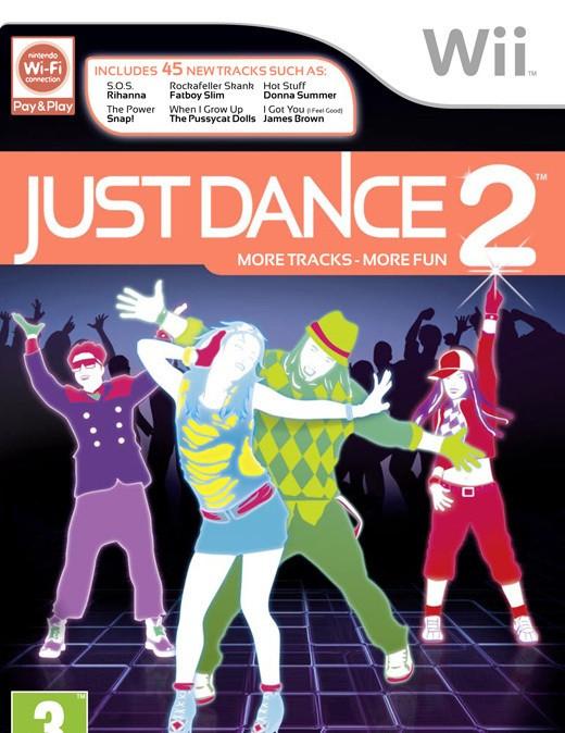 Just Dance 2 Box Art