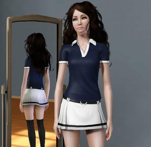 Sims 3 Japanese Girl