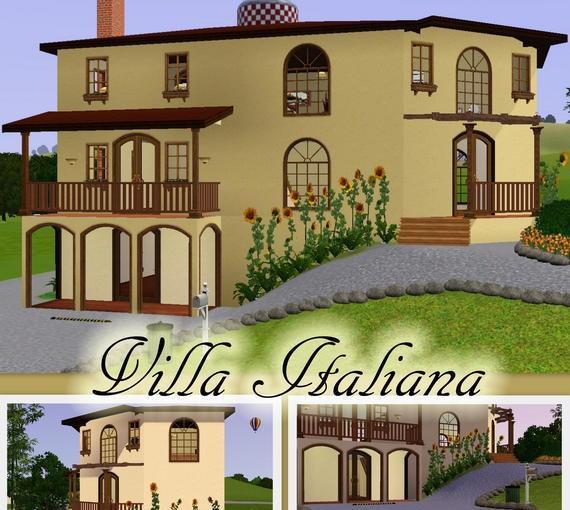 Sims3 - Italian Villa italian fem joy
