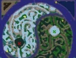 Warcraft Maps: Battle of the Stars
