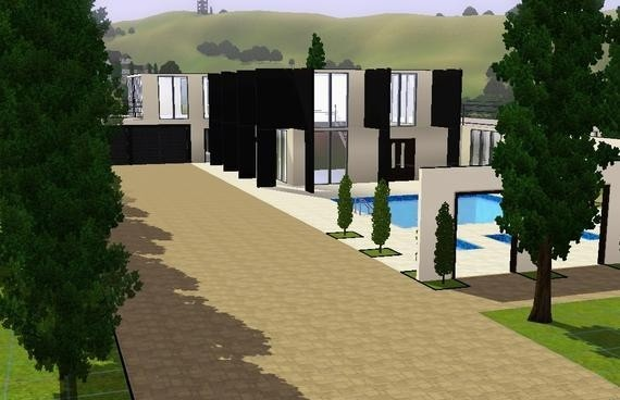 Sims3 - Villa Moderna
