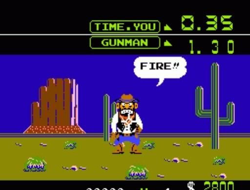 Wild Gunman for NES
